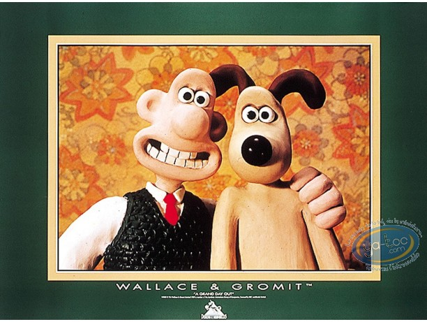 Offset Print, Wallace and Gromit : Cheese !