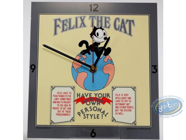 Clocks & Watches, Félix le Chat : Clock, Felix the cat