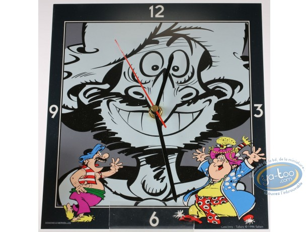 Clocks & Watches, Iznogoud : Clock, Iznogoud