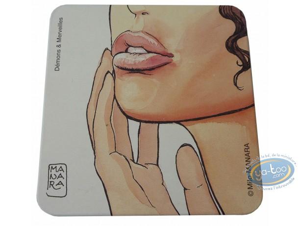 Box, Déclic (Le) : Cigarette box, Manara face