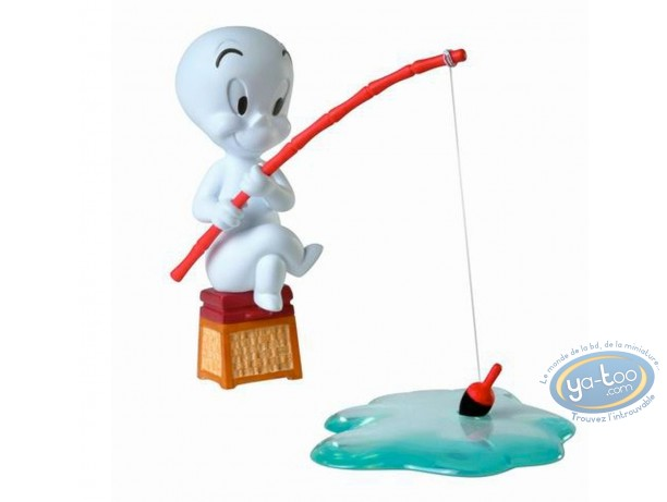 Resin Statuette, Casper : Casper fishing