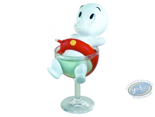 Resin Statuette, Casper : Casper in the glass