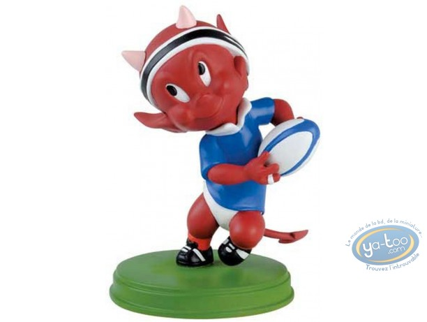 Resin Statuette, Hot Stuff : Rugby player