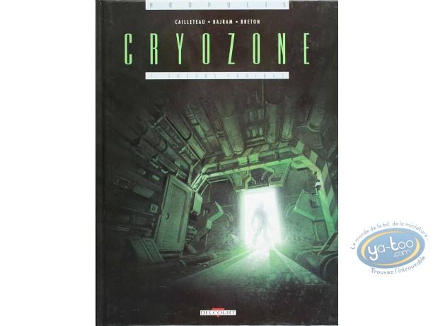 Listed European Comic Books, Cryozone : Sueurs Froides