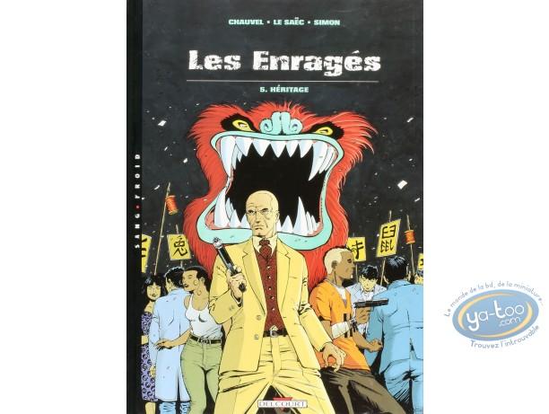 Listed European Comic Books, Enragés (Les) : Heritage