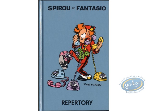 Address Book, Spirou and Fantasio : Repertory, Spirou and Fantasio : Blue