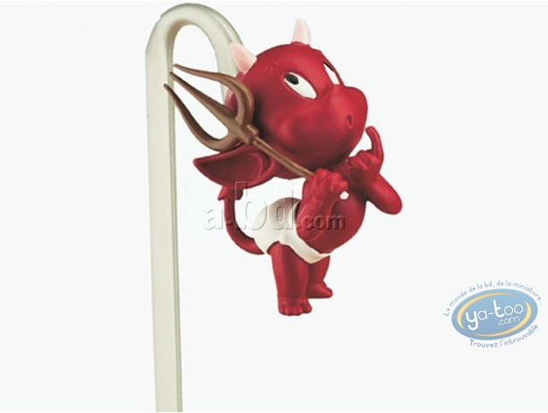 Office supply, Hot Stuff : 3D bookmark, Hot Stuff with his fork