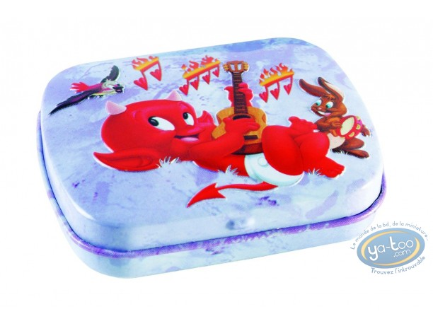 Box, Hot Stuff : Hot Stuff : little metal box (purple)