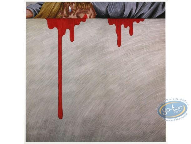 Offset Print, Rork : Bleeding