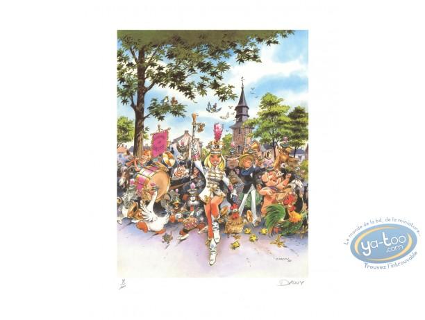Offset Print, Olivier Rameau : Cheerleader