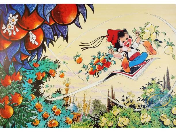 Offset Print, Foufi : Oranges