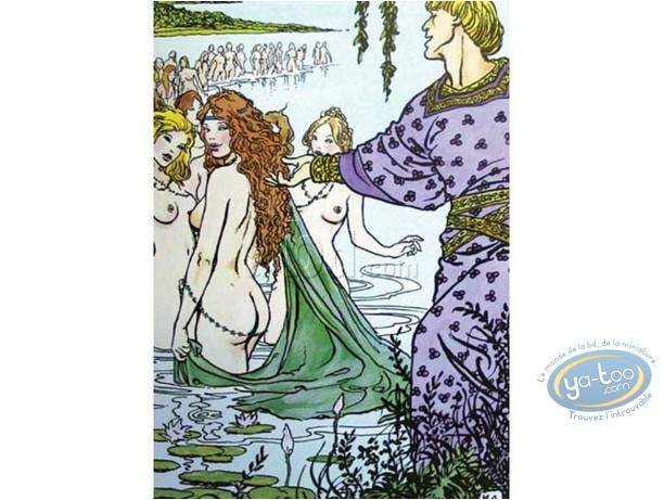 Offset Print, Manara : The Bath, Manara