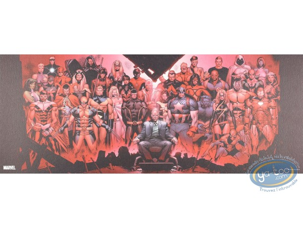 Offset Print, X-Men : Family Portrait