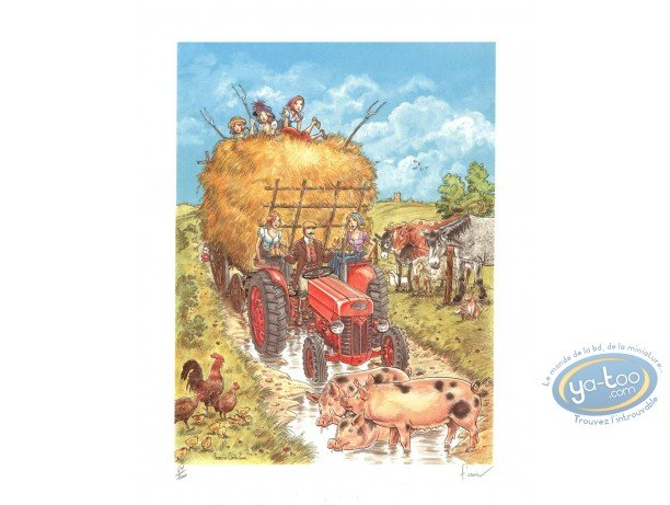 Offset Print, Victor Sackville : The Hay