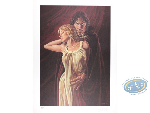 Offset Print, Prince de la Nuit (Le) : Kergan and his Prey (mat)