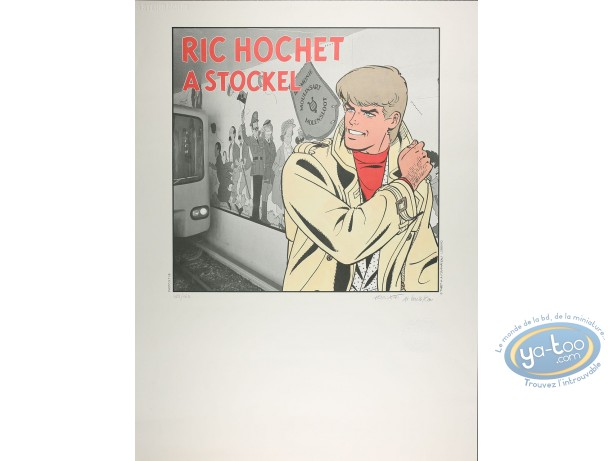 Offset Print, Ric Hochet : Ric Hochet à Stockel