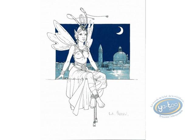Bookplate Offset, Ian Kaledine : Fairy