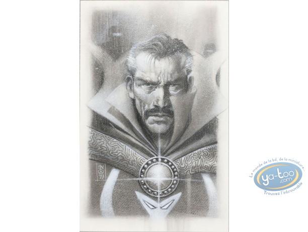 Originals, X-Men : Eddy Newell - Doctor Strange (original drawings)