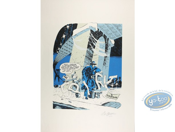 Serigraph Print, Spirit (Le) : The Spirit under the snow (little marks)