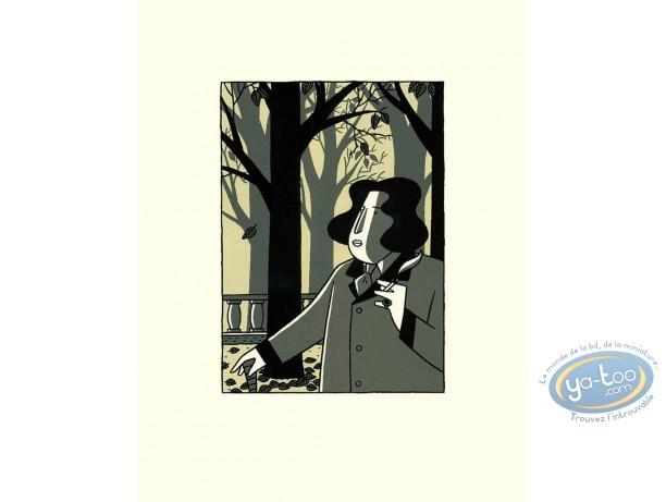 Serigraph Print, Monsieur Oscar : Monsieur Oscar