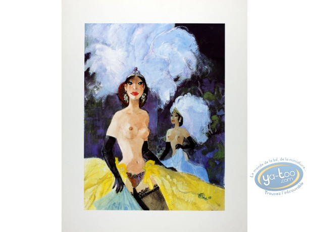 Offset Print, Pin-Up : Moulin Rouge (glossy)