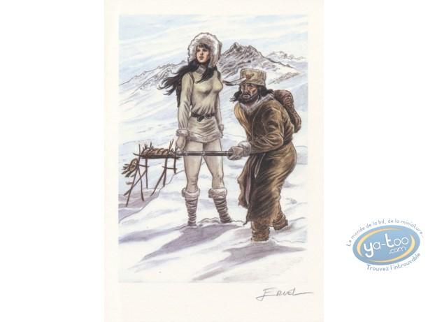 Bookplate Offset, Pionniers du Nouveau Monde (Les) : Winter