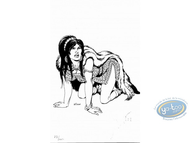 Bookplate Offset, Vae Victis : Woman on the Floor