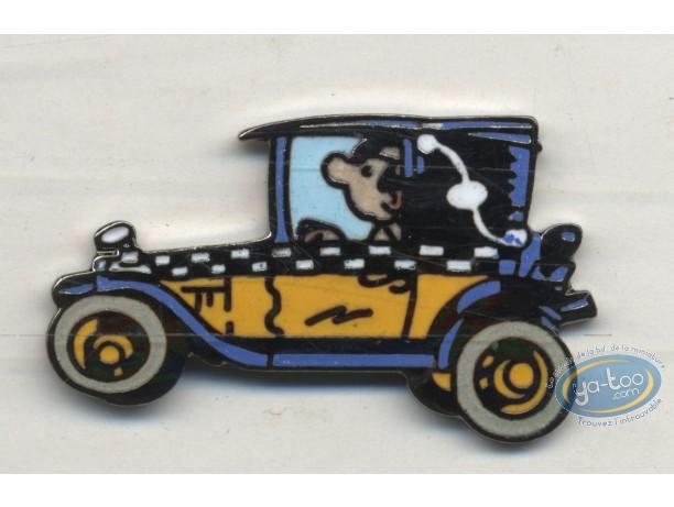 Pin's, Gaston Lagaffe : Pin's, Franquin, Gaston : Car 1