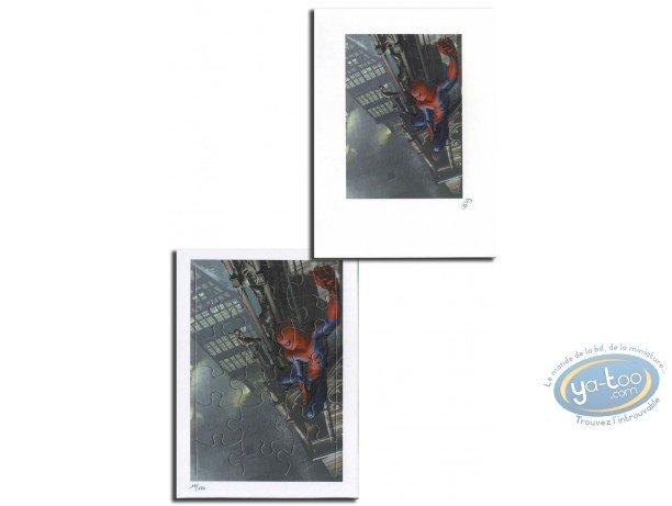 Bookplate Offset, Spiderman : Spiderman (jigsaw)