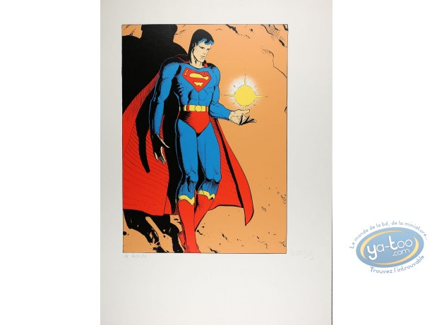 Serigraph Print, Superman