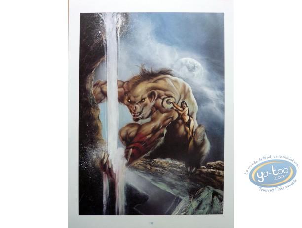 Offset Print, Garous : Wrewolff & Priestess