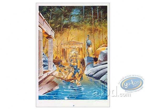Offset Print, Atalante : Crisse, Atalante s'avancant dans l'eau