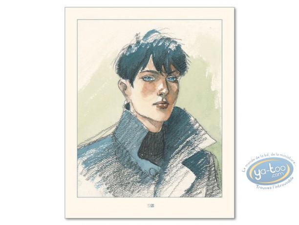 Offset Print, Cahier Bleu (Le) : Louise's Portrait