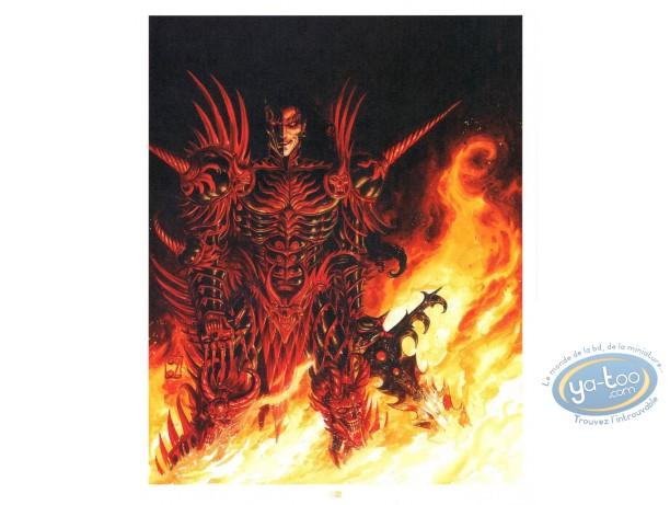 Offset Print, Warrior Daemon