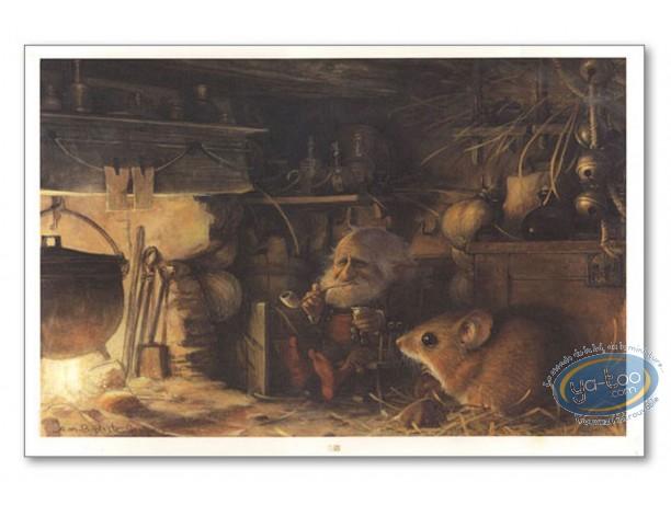 Offset Print, Féerie : Goblin in storehouse