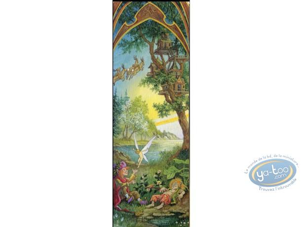 Offset Bookmark, 4 Saisons : The 4 seasons spring