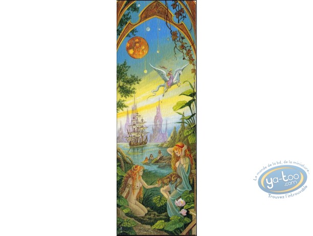 Offset Bookmark, 4 Saisons : The 4 seasons summer