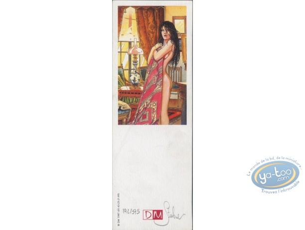 Offset Bookmark, Fabien M : Woman