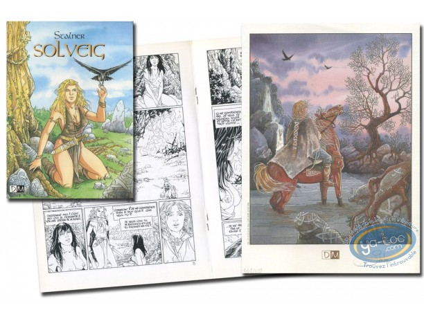 Reduced price European comic books, Solveig : The Witch & The Crow