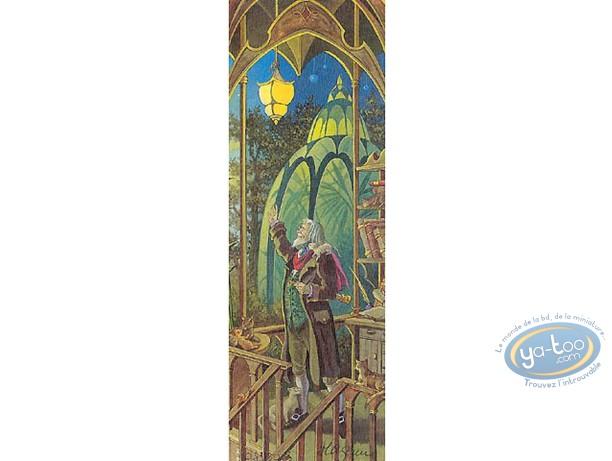 Offset Bookmark, 4 Saisons : The 4 seasons autumn (signed)