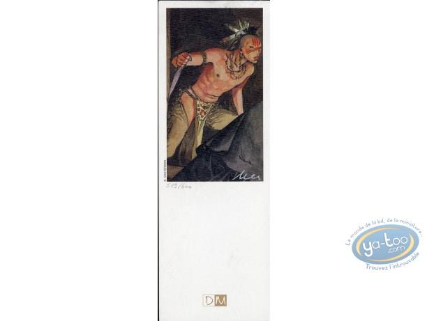 Offset Bookmark, Eté Indien (L') : Indian with a Knife