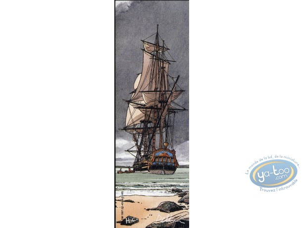 Offset Bookmark, Epervier (L') : Boat