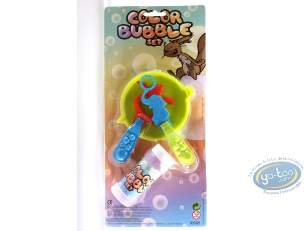 Toy, Spip : Spip : Color Bubble Set