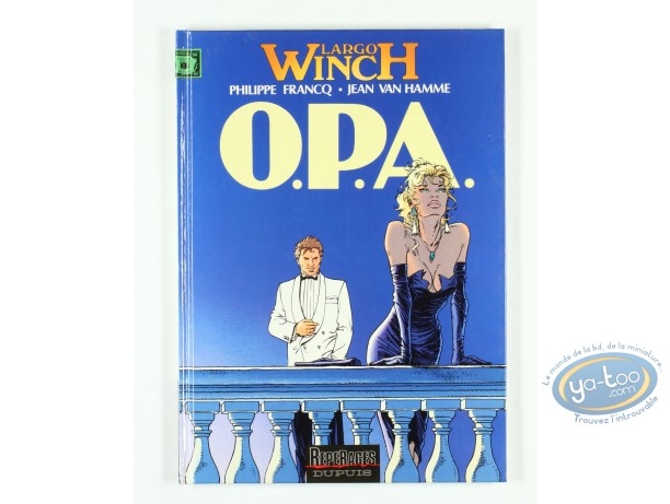 Listed European Comic Books, Largo Winch : O.P.A. (very good condition)