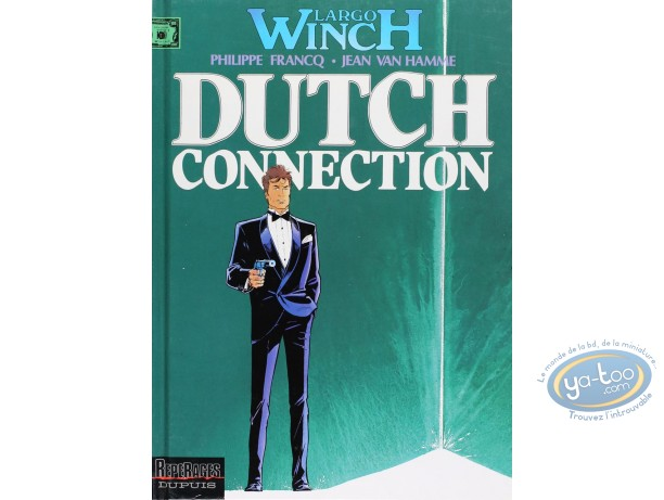 Listed European Comic Books, Largo Winch : L'Heritier + Dutch Connection (very good condition)