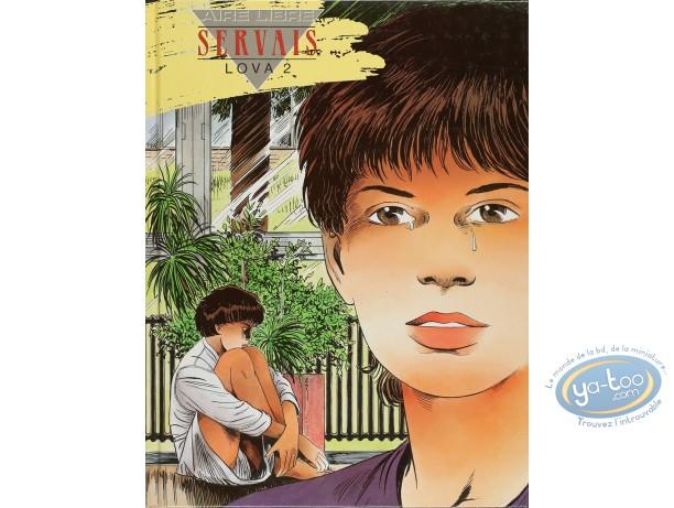 Listed European Comic Books, Lova : Servais, Lova