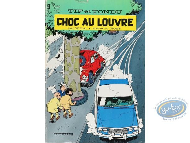 Listed European Comic Books, Tif et Tondu : Choc au Louvre (nearly good condition)
