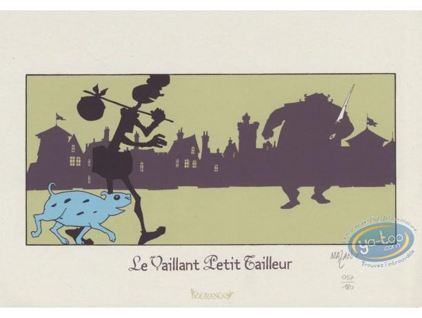 Bookplate Serigraph, Vaillant Petit Tailleur (Le) : Street