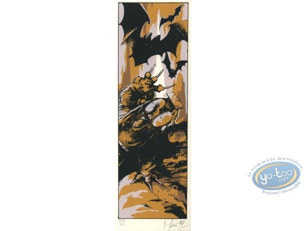 Serigraph Bookmark, Graine de Folie (La) : Mole