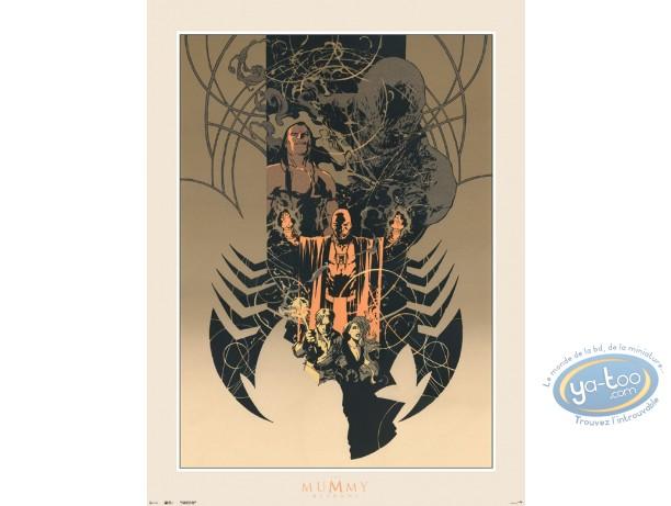 Serigraph Print, Varanda : Varanda The Mummy Returns